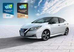 426211132 New Nissan LEAF wins first international award