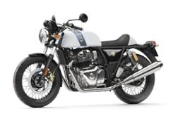 Royal Enfield Continental GT - Ice Queen Front 3-4