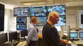 sistema videosorveglianza della sala operativa Pm 1