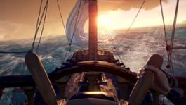 Sea of Thieves Sunrise 4K