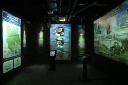 Historical park exhibition