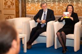 Assemblea UCINA Min Delrio e Presidente Demaria