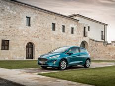 2017 Ford Fiesta Titanium Wave Blue 065