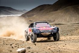Team Peugeot Total Dakar 2018 Shakedown 4.1.2018 ©PEUGEOT SPORT : MCH Photography 18082