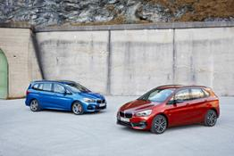 Photo Set - The new BMW 2 Series Active Tourer. The new BMW 2 Series Gran Tourer.