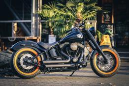Mezeler Orangewall Thunderbike