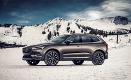 219068 New Volvo XC60 exterior winter snow