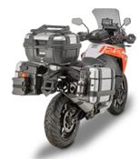 GIVI - MOTOR BIKE EXPO 2018 Accessories for KTM 1290 Super Adventure