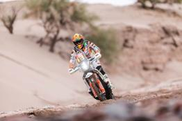 Toby Price Claims Stage 13 win at Dakar 2018