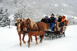 carrozza neve foto Graziano Bontempelli
