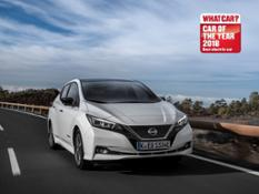 426217556 Nissan LEAF named Best Electric Car at 2018 What Car Awards