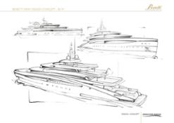 2012 - 85 MT EXTERIORS BENETTI (PROJECT)
