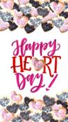 Happy Heart Day for iPhone 7plus