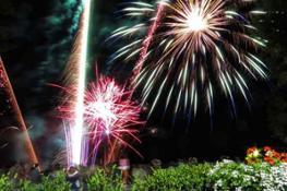 Fuochi-artificio al Ristorante Madonnina