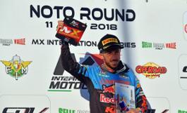 Antonio Cairoli sul podio della Supercampione
