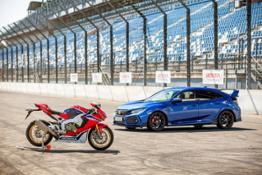 HONDA 25 YEARS OF TYPE R AND FIREBLADE (2)