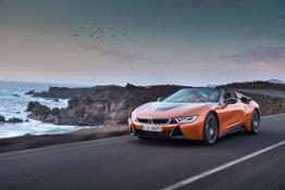 BMW i8 Roadster and Coupé