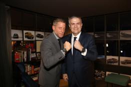 Lapo Elkann and Ricardo Guadalupe