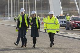 426219913 THE Duke and Duchess of Cambridge have officially crossed Sunderland's new