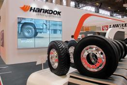 20180226 Hankook presents commercial tyre solutions at the 2018 CV Show 1