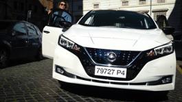 Nissan LEAF con Tessa Gelisio 03