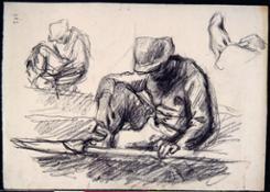6. contadino seduto
