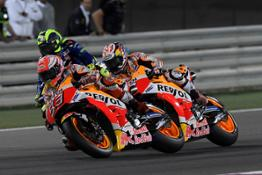 Marc Marquez and Dani Pedrosa – Qatar Race
