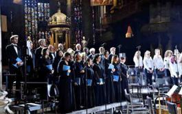 Ruben Jais dirige laBarocca con il Coro Sinfonico nella Passione di Bach in Duomo - foto Veneranda Fabbrica del Duomo di Milano (23)