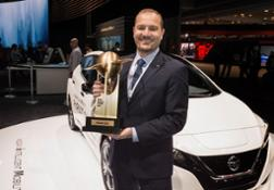 426224712 All-new Nissan LEAF named ' World Green Car of the Year'