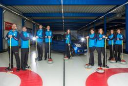 La Nazionale italiana di Curling sceglie Suzuki IGNIS (1)