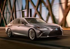 2019 Lexus ES Teaser 02 887822D6CC1BE13C1800293B419B8BCF0ACC6990