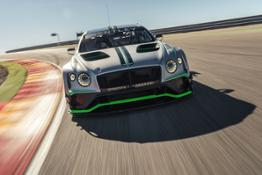 Bentley Continental GT3 - front