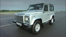 07 Land Rover Defender Tracking Footage - 12 Secs