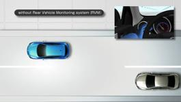 Mazda Rear Vehicle Monitoring System