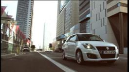 New Suzuki Swift Sport 1 Urban Driving 22-09-11