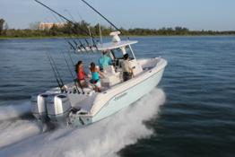 New BF250 Outboard engine