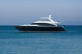 Princess 82 Motor Yacht with optional hardtop