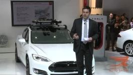 Tesla Press Conference at the 2014 North American Internatio