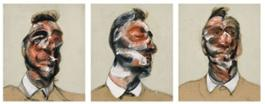 Bacon Three Studies for Portrait of George Dyer