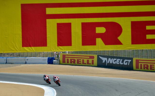 With Pirelli standar