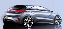 New Generation i20 Coupe_First Sketch