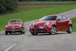 Giulietta Sprint 2014 Vs 1954