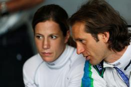 0000030669-Michela Cerruti and Jarno Trulli will drive the Formula E car at the Bologna Motor Show