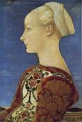 2. Piero del Pollaiolo, Ritratto di giovane donna, Berlino Gemaldegalerie