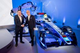 Alejandro Agag  Founder   CEO of Formula E and Ulrich Spiesshofer  CEO of ABB