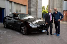 Maserati_Massimo Bottura-Chef 3 stelle Michlin-e Harald Wester-CEO Maserati