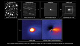 Comet_observed_from_Earth