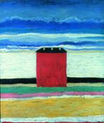 01_Malevic_Casa rossa, 1932
