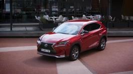 Lexus NX footage