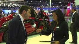 Ralph Debbas - W Motors - Dubai Motor Show